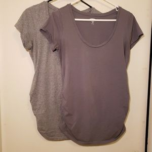 2 for $12 Old Navy Maternity tops